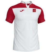 Belfast Boat Club Fitness Joma Crew III Polo White/Red Adults 2019